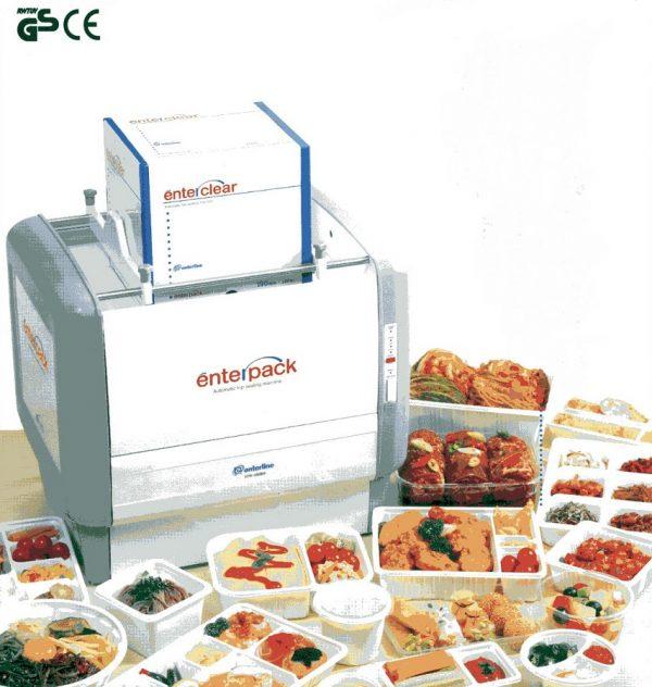 Termosigillatrice per contenitori alimentari preformati Enterpack EPA 350 AD