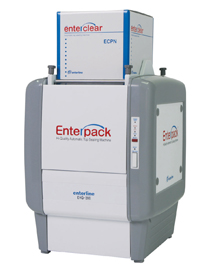 Termosigillatrice per contenitori alimentari preformati Enterpack EPA 200 AD